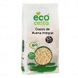 Copos de Avena Integral Ecológicos Ecocesta Sin Gluten 500 G.