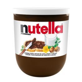 Crema de Cacao Con Avellanas Nutella 200 G.