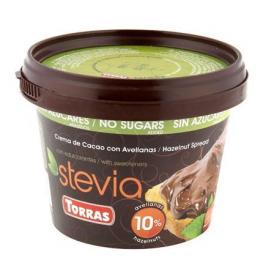 Crema de Cacao Con Avellanas Stevia Torras 229 G.