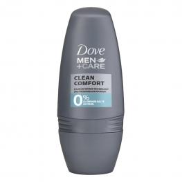 Desodorante Roll-On Clean Confort Dove 50 Ml.