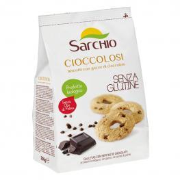 Galletas Con Pepitas de Chocolate Ecológicas Sarchio Sin Gluten 200 G.