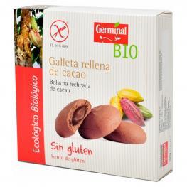 Galletas Rellena de Cacao Ecológicas Germinal Bio Sin Gluten 200 G.