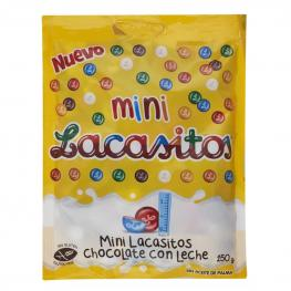 Grageas Minis de Chocolate Con Leche Lacasitos Lacasa 150 G.