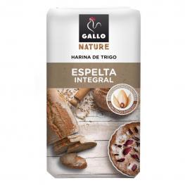 Harina de Trigo de Espelta Integral Gallo Nature 1 Kg.