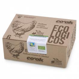 Huevos Ecológicos Co´ok 6 Ud
