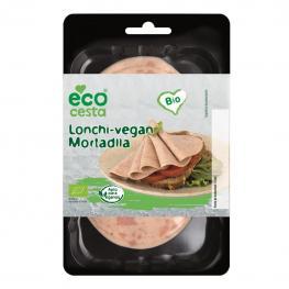Lonchas Veganas Sabor Mortadela Ecológicas Ecocesta 100 G.