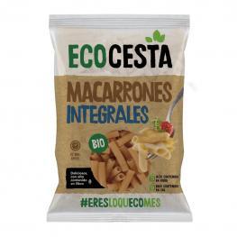 Macarrones Integrales Ecológicos Ecocesta 500 G.