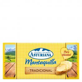 Mantequilla Tradicional Central Lechera Asturiana 125 G.