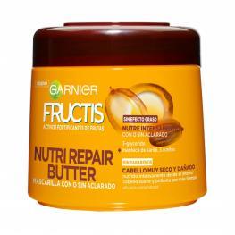 Mascarilla Capilar Nutri Repair Butter Para Cabello Muy Seco Garnier Fructis 300 Ml.