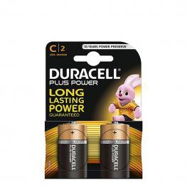 Pack de 2 Pilas Alcalinas Uso Frecuente Duracell Lr14 (C) Plus