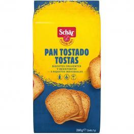 Pan Tostado Schär Sin Gluten 250 G.