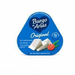 Queso Blanco Pasteurizado Burgo de Arias Pack de 3 Unidades de 72 G.