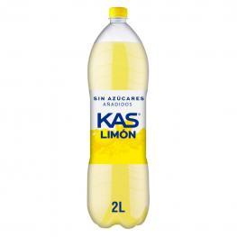 Refresco de Limón Kas Con Gas Zero Botella 2 L.