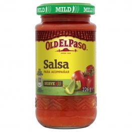 Salsa Suave de Tomate, Cebolla y Pimiento Verde Old el Paso 226 G.