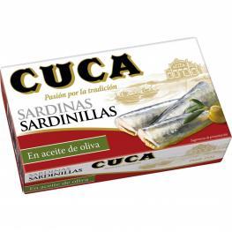 Sardinas En Aceite de Oliva Cuca 63 G.