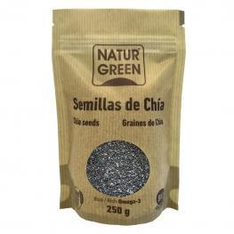 Semillas de Chía Ecológicas Naturgreen 225 G.