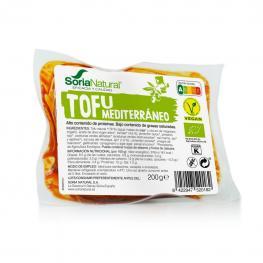 Tofu Mediterraneo Suave Ecológico Soria Natural 200 G.