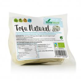 Tofu Natural Ecológico Soria Natural Sin Gluten 250 G.
