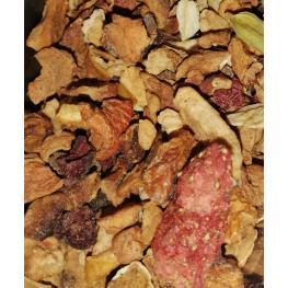 Infusión Fruta Especiada Organico 100Gr Sabor A Manzana - Canela