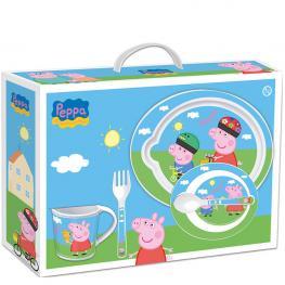 Set 5 Piezas Microondas Pepa Pig