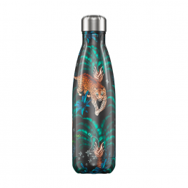 Botella Chillys Tropical Leopard 500Ml
