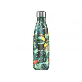 Botella Chilly'S Toucan Tropical Edition 500Ml