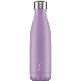Botella Chillyś Purple Pastel Edition