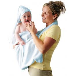 Apron Baby Bath Towel Clevamama
