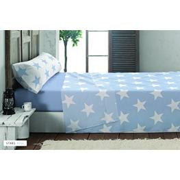 Juego Sabanas Stars 90 Azul