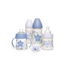Pack Biberones Azul