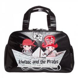 Bolso Negro Kiwisac Piratas