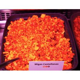 Migas de Chorizo Con Torreznos