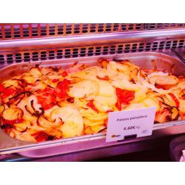 Patatas Panaderas Con Cebolla