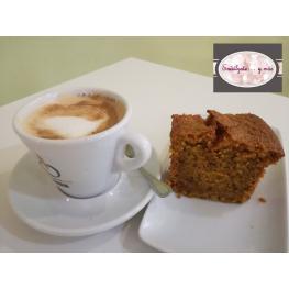 Café Con Leche + Bizcocho de Zanahoria