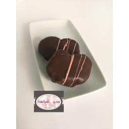 Palmeritas Chocolate y Frambuesa +-65Gr