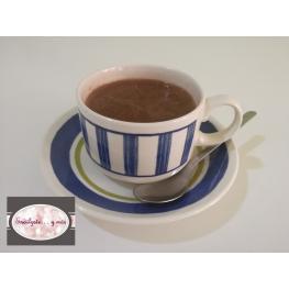 Chocolate A la Taza (Sin Gluten) Con Leche Sin Lactosa