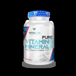 Vitness Vitamins And Minerals 100Cap