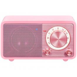 Sangean Wr-7 Rosa Radio Analógica Sobremesa Fm Bluetooth Batería Li-Ion Recargable - Wr-7 Rosa
