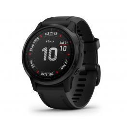 Garmin Fénix 6S Pro Negro Con Correa Negra 42Mm Smartwatch Premium Multideporte Gps Integrado Wifi Bluetooth - Fénix 6S Pro Negro 42Mm