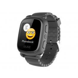 Elari Kidphone 2 Negro Reloj Inteligente Smartwatch Para Niños Con Localización Gps y Botón Sos Exclusivo - Kidphone2 Negro