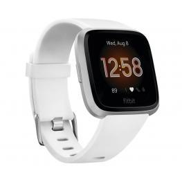Fitbit Versa Lite Blanco Plata Smartwatch Reloj Deportivo Con Pantalla Táctil y Correa Blanca - Fb415Srwt Versa Lite