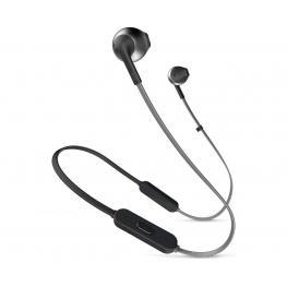Jbl T205Bt Negro Auriculares Ergonómicos Con Micrófono Integrado Control Remoto Bluetooth - T205Bt Black