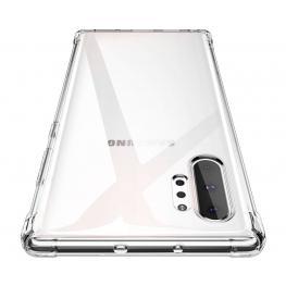 Jc Funda Silicona Transparente Samsung Galaxy Note 10+ Bordes Reforzados - Note 10+ Trans