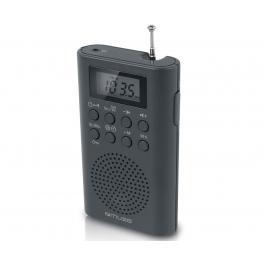 Muse M-03 R Negro Radio Analógica de Bolsillo Fm Con Altavoz Integrado - M-03 R