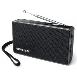 Muse M-030 R Negro Radio Analógica Fm/am Con Altavoz Integrado - M-030 R