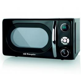 Orbegozo Mig2044 Microondas de 700W Digital Con Grill de 20 Litros de Capacidad y Diseño En Negro - Mig2044 Negro