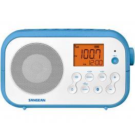Sangean Pr-D12Bt Blanco Radio Sobremesa Fm Am Bluetooth Pilas Recargables - Pr-D12Bt Blanco