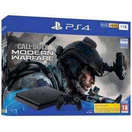 Sony Playstation 4 Slim 1Tb Pack Call Of Duty:modern Warfare + Mando Dualshock 4 - Ps4 Slim 1Tb+Cod:mw