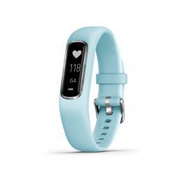 Garmin Vivosmart 4 Azul Celeste Talla S/m Pulsera Monitor de Actividad Inteligente - Vivosmart 4 Azul Celeste Talla S/m