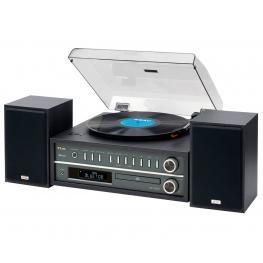 Teac Mc-D800 Negro Tocadiscos Con Nfc, Bluetooth, Cd, Usb 20W - Mc-D800 Negro